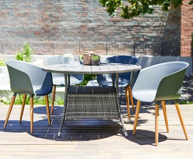 Modern Outdoor Ideas Medium size White Aluminum Chairs Cast Patio Dining  Sets Affordable Modern Outdoor