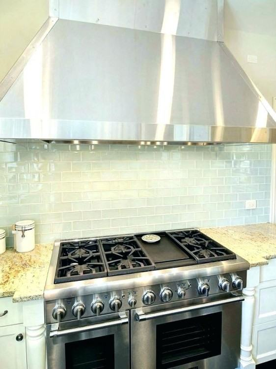 Range hoods can be a kitchen focal point