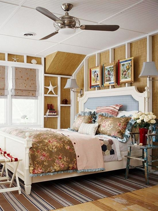 beach theme bedroom decorating