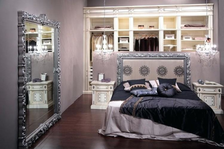 black silver bedroom home decor