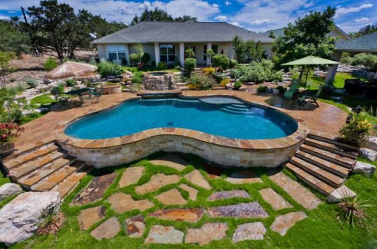 Full Size of Small Backyard Inground Pool Designs Yard Ideas Pools Cost Big  Best Awesome Charming