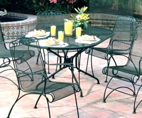 Commercial Grade Furniture; Wrought Iron Furniture