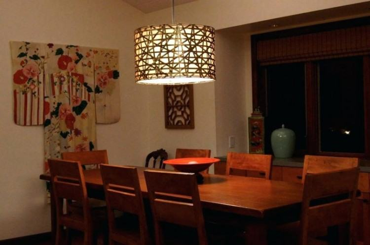 Dining room lighting should be both beautiful and functional