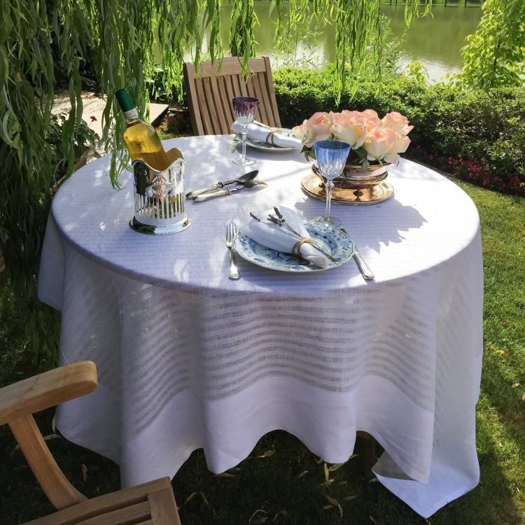 outdoor table cloth using a bed sheet as a outdoor table tablecloth outdoor  living outdoor oilcloth