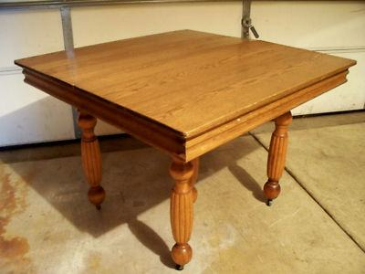 Precious Antique Oak Dining Room Furniture With Bench Tables For
