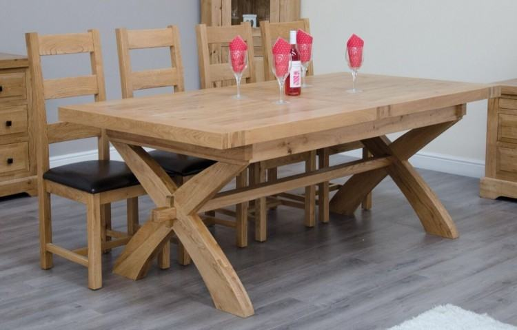 Choose this extending dining set Violet Grey 6 Seater for its practicality
