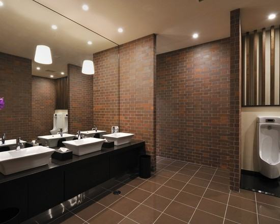Beautiful Inspiration Commercial Bathroom Designs 12 Design Interior