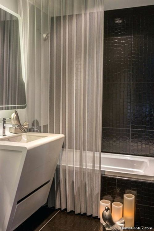 Macrame Shower Curtain DIY