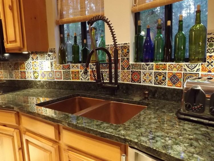 tile ideas mexican backsplash murals ceramic