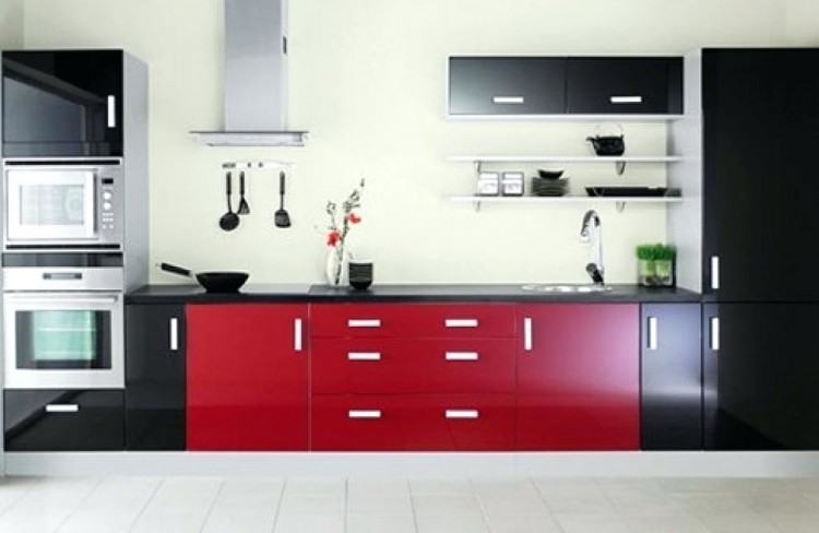Red And Tan Kitchens Kitchen Decor Black Enlarge Ideas