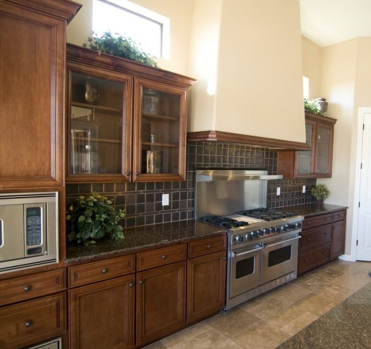 Simple Modern Luxury Kitchen Ideas with U Shaped Dark Brown Together  with Luxury Kitchen Ideas with