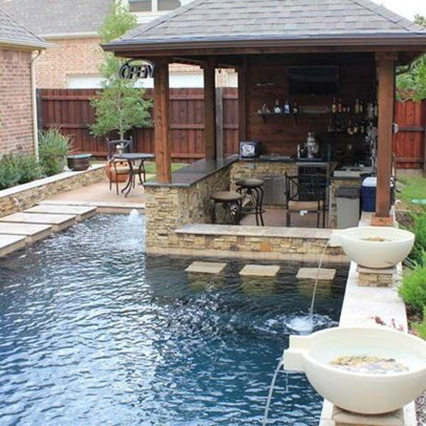 But yeah!! Pools are always a welcoming thing in any house