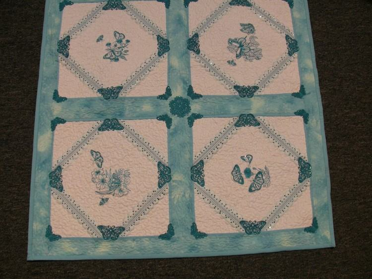 But if you want to try the designs on aida cloth, they are digitized for 14  count