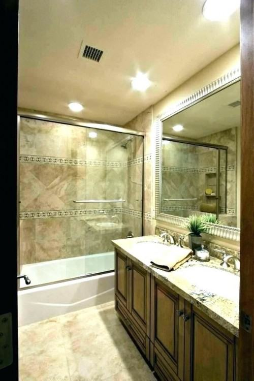 Using Bath Tub With Curtain Rod As Decoration Ideas For Small Idea For