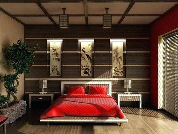 chinese bedroom decoration relaxing bedroom with  decor