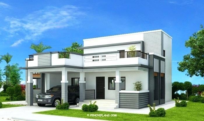 modern green roof design