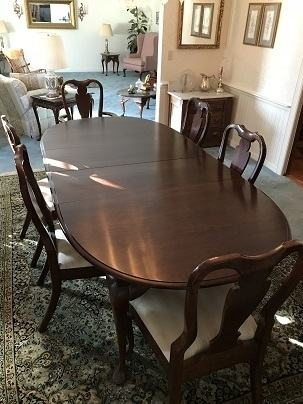 A Dining Room Table From Crate And Barrel