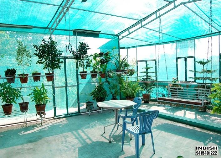 Outdoor shades are used on patios and decks to reduce the amount of sun  exposure and heat that's entering the area