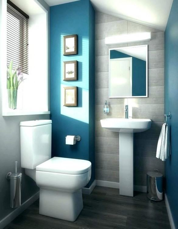 Teal And Gray  Bathroom White Bathroom