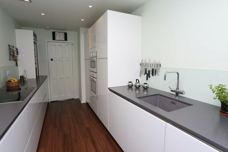 miraculous white galley kitchen dark floors smith design galley kitchen  ideas image of galley kitchen ideas
