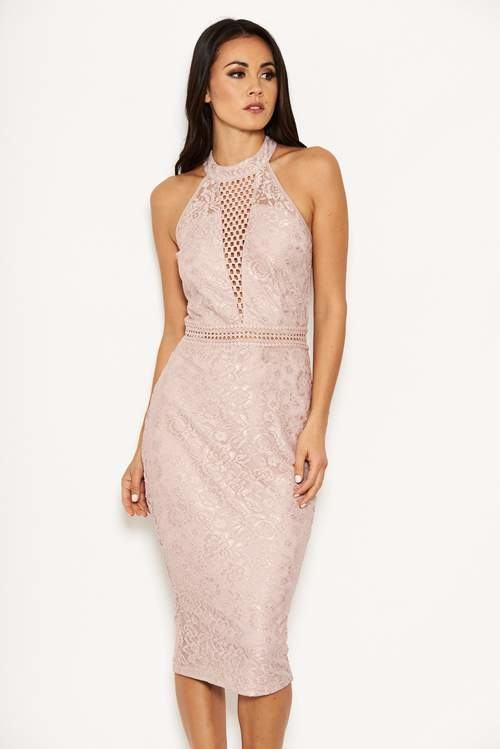 Wedding Guest Dresses, Taupe, Eyes On You Knotted Maxi Dress,