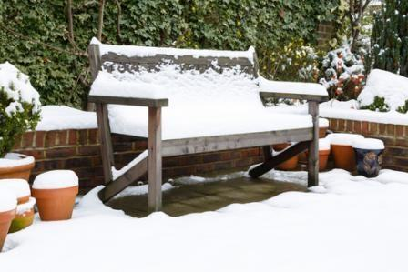 Properly caring for patio and outdoor furniture before storing it for the  winter months can help extend its life for many years to come