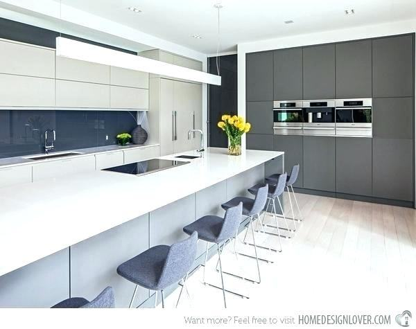 The kitchen is a dream with the  grey and