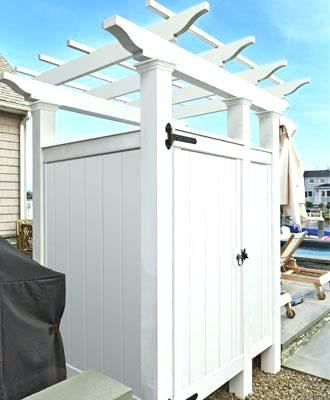 lowes outdoor shower showers stalls