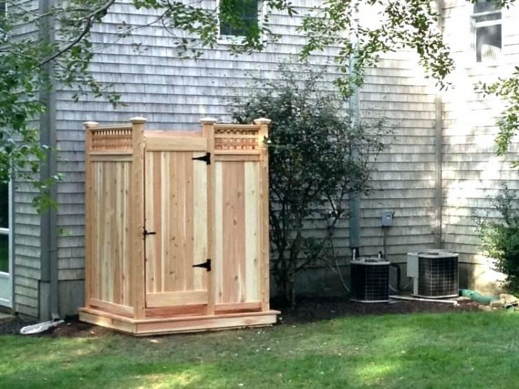 teak outdoor shower wooden outdoor shower outdoor shower enclosure an outdoor  shower stall made of teak