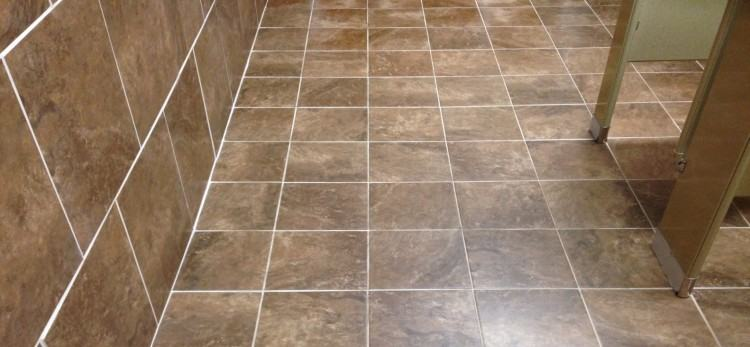 commercial bathroom floor tile