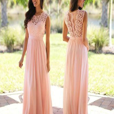 Summer Bohemian 2017 A Line Beach Wedding Dresses Top Lace
