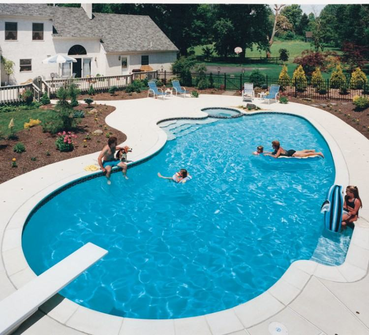 classic pool and spa omaha classic pool and spa features a classic pool  design with the