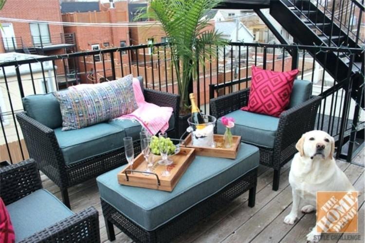 Outdoor Furniture Terrace Decor
