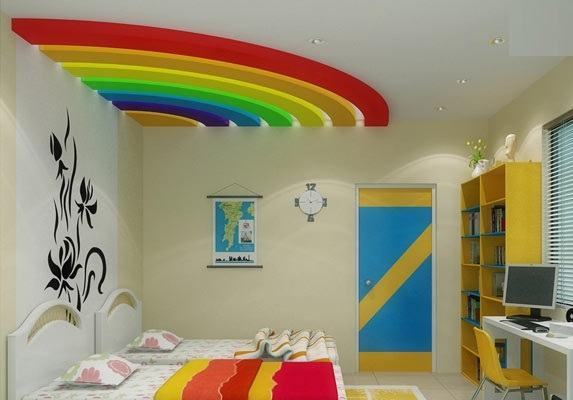 great collection of modern false ceiling designs made of plaster of Paris  designs (POP) for kids room, starry sky, cloudy sky and other themed  ceiling