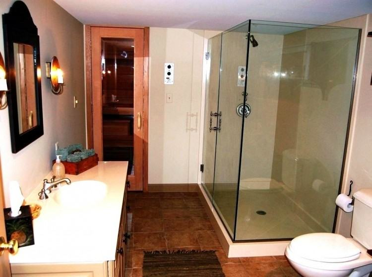 [Bathroom Interior] Finished Basement Bathroom Small
