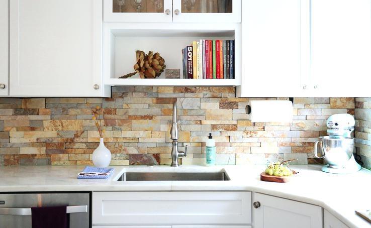 Kitchen Wall Backsplash Design White Designs Minimalist Black Countertop