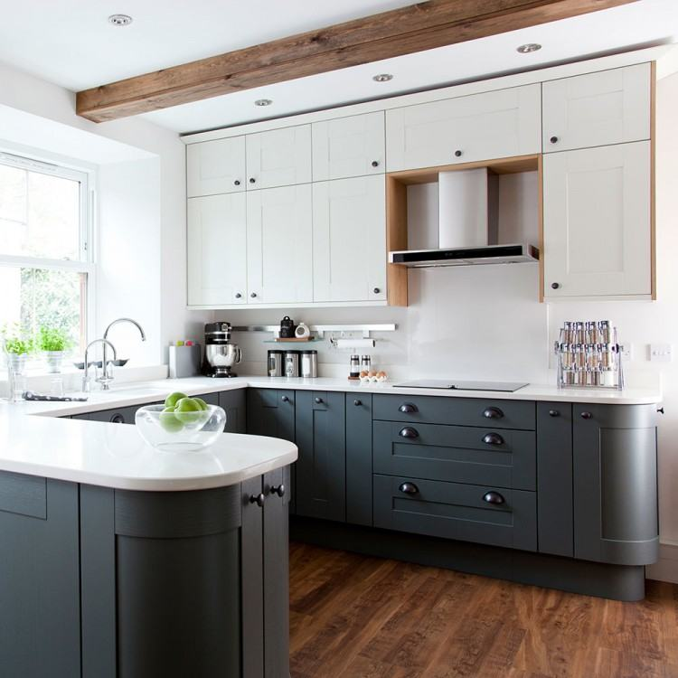 21 Trendy Ways to Ditch White and Embrace Gray Kitchen Cabinets