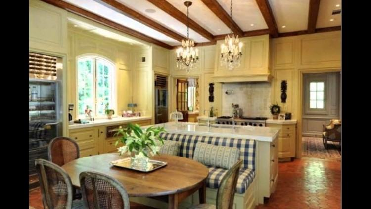 french country house interior design industrial