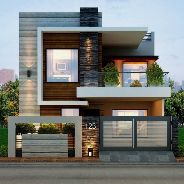 most modern house
