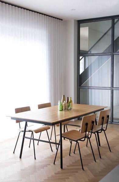 Tilt Top School Dining Tables
