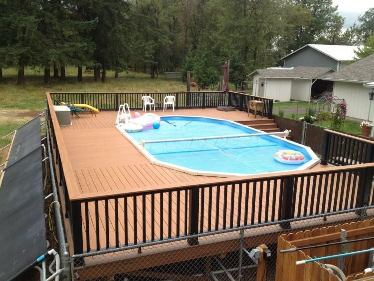 Cancun Free Form large fiberglass pool designs