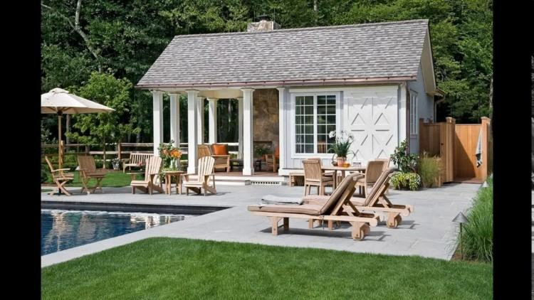 Brilliant House Plans with Pools Idea for Charming Look: Small Modern House  Plans With Pools