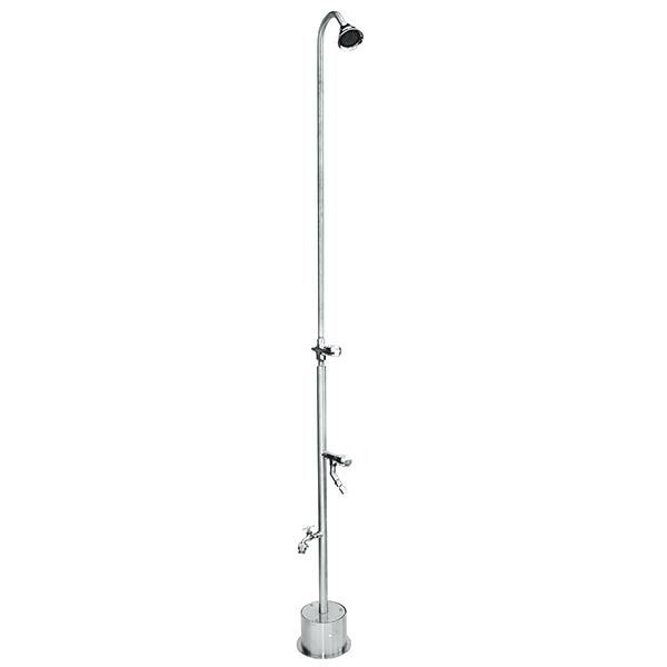 stainless outdoor shower outdoor shower ideas how to choose the best  material stainless steel shower garden