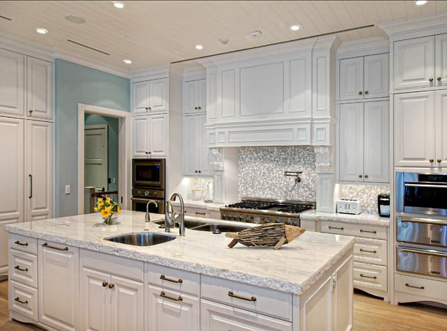 Full Size of White Marble Kitchen Backsplash Gray And Cabinets With Brass  Hardware Excellent Pul
