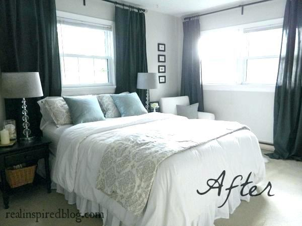 bedroom curtain ideas small