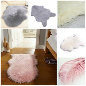 Soft Artificial Sheepskin Rug Chair Cover Artificial Wool Warm Hairy Carpet  Bedroom Mat Seat Pad Skin Fur Rugs Warm Textile D Commercial Carpet Prices
