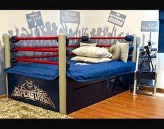 wrestling bedroom