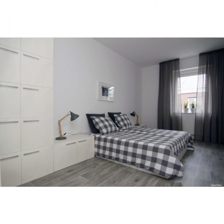 Ikea Hemnes bedroom furniture, double bed,chest and bedside cabinet, white