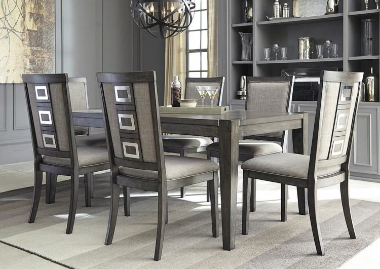 Home · Dining Room · Dining Chairs; Ashley Dresbar Cream Dining Upholstered  Side Chair