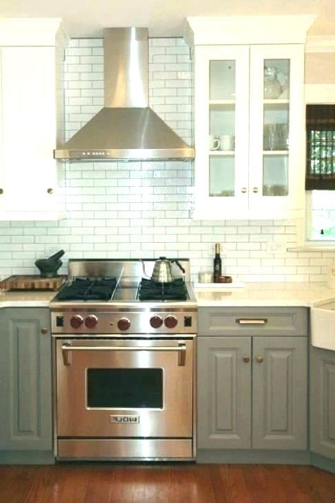 built in range hoods integrated kitchen
